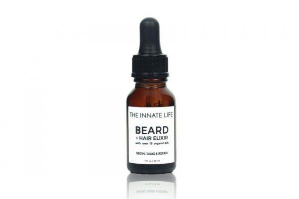 Above: The Innate Life Beard & Hair Elixir