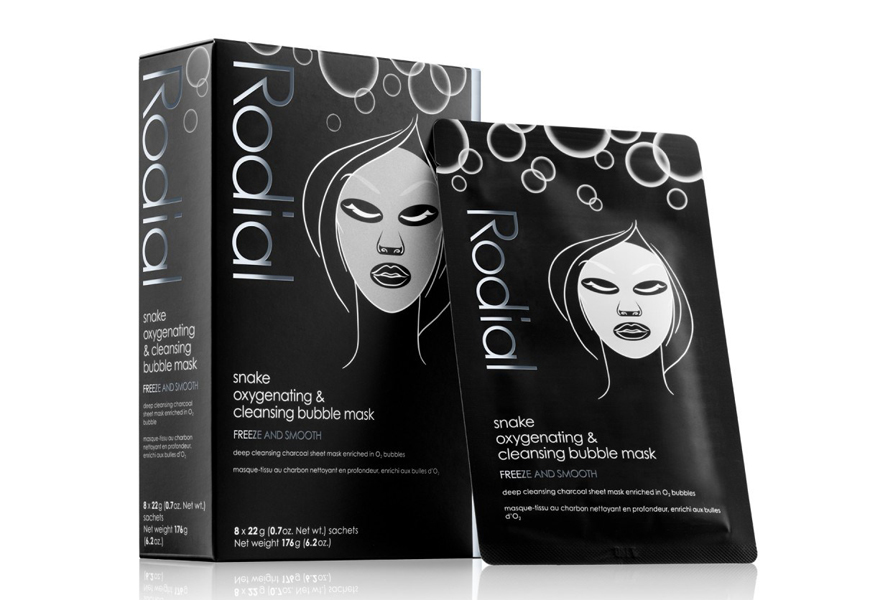 Above: Rodial Snake Oxygenating & Cleansing Bubble Mask