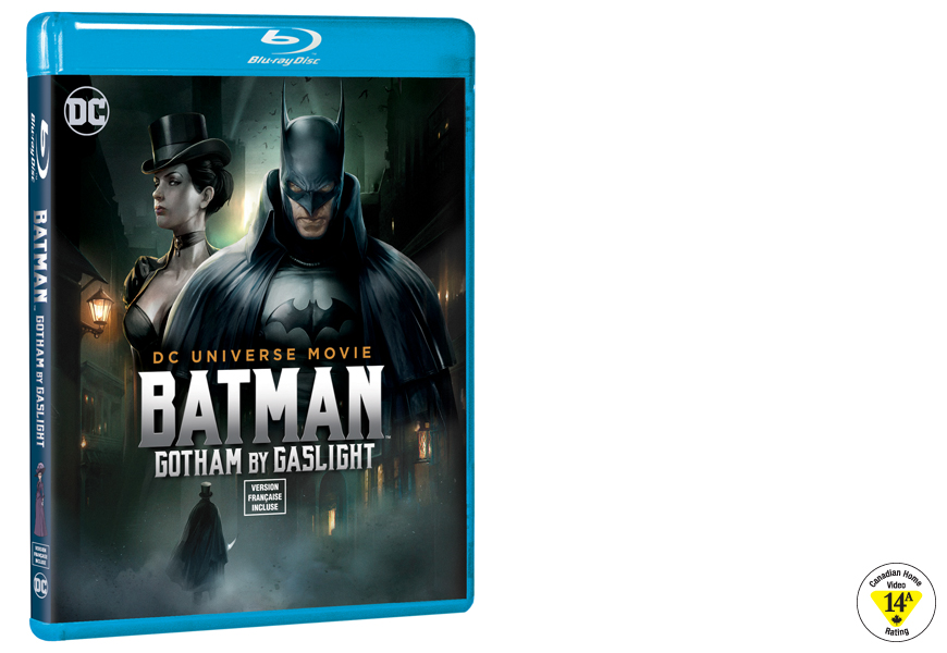 Enter For A Chance To Win DCU BATMAN- GOTHAM BY GASLIGHT On Blu-ray