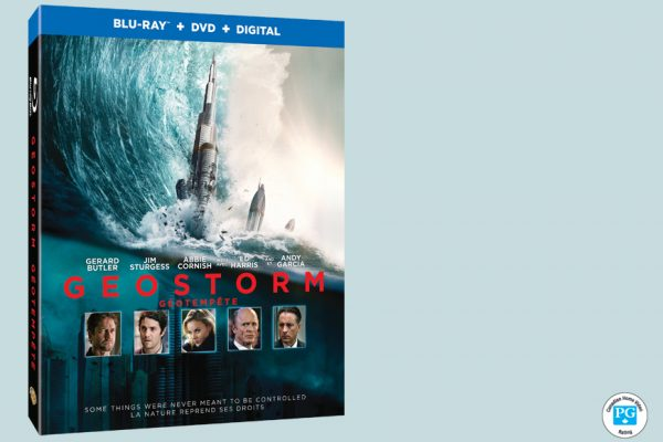 Enter For A Chance To Win GEOSTORM On Blu-ray
