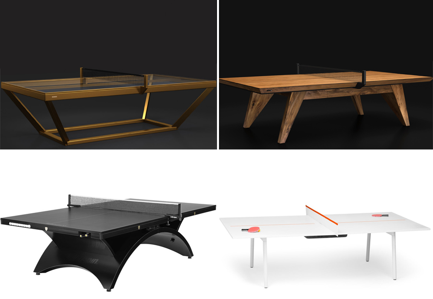 Latest Design Trend: Luxe Table Tennis