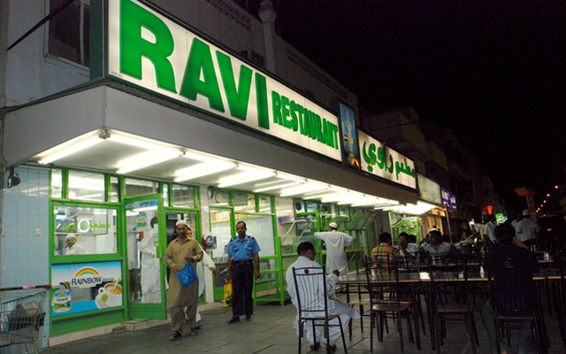 Above: Ravi restaurant, the popular, unassuming eatery serving up an array of traditional Pakistani & Indian fare