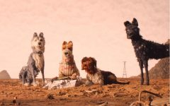 "(From L-R): Edward Norton as ""Rex,"" Jeff Goldblum as ""Duke,"" Bill Murray as ""Boss,"" Bob Balaban as ""King"" and Bryan Cranston as ""Chief"" in the film ISLE OF DOGS. Photo Courtesy of Fox Searchlight Pictures."