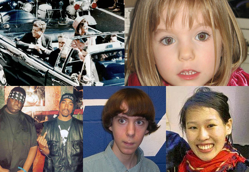 5 Crazy Conspiracy Theories Surrounding Famous Cases