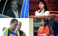Above (clockwise): John Hinckley Jr., Lorena Bobbitt, Andrea Yates and Vincent Li