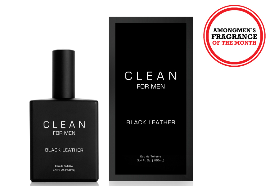 Above: CLEAN's Black Leather EDT
