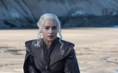 Above: Emilia Clarke as Daenerys Targaryen in HBO's 'Game of Thrones'