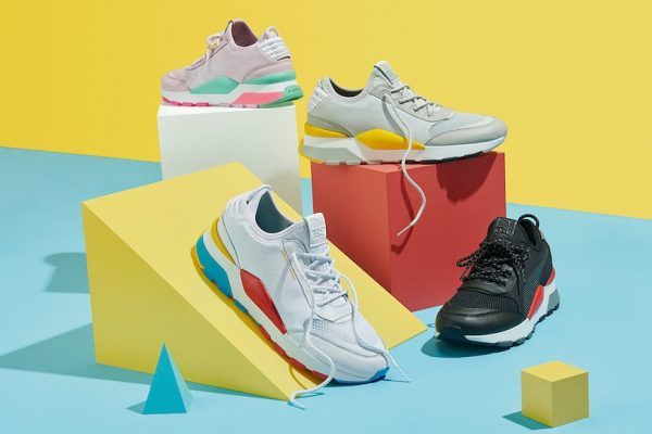 Above: The upcoming Puma RS-0 Play collection