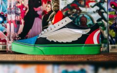 Above: Captain America, Spider-Man, and more adorn new Vans kicks