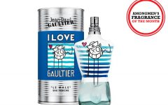 Above: Jean Paul Gaultier, Le Mâle Eau Fraîche Limited Edition EDT