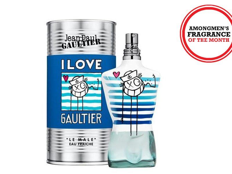 Above: Jean Paul Gaultier, Le Mâle Eau Fraîche Limited Edition EDT