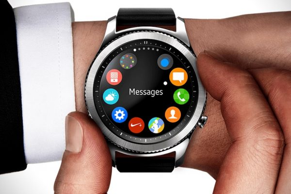Above: Samsung is gearing for its next batch of smartwatches