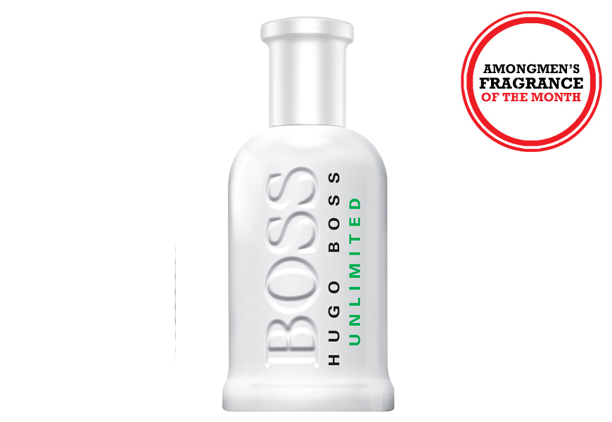 Above: Hugo Boss Bottled Unlimited EDT