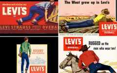 Above: A few of our favourite vintage Levi's ads