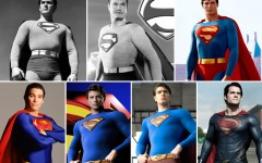 Above: The actors who have slipped on the iconic Superman costume