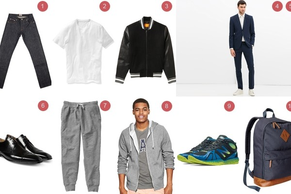 Above: 10 back-to-school basics that you can pick up right now