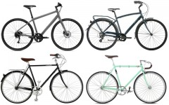 Above (clockwise): Norco Indie 2, Opus Classico 1.0 , Linus Roadster Sport 3, Fuji Bikes Feather