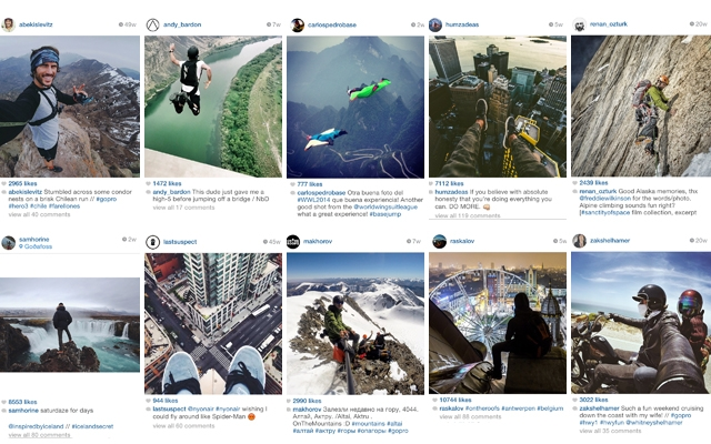 Above: 10 of our favourite daredevils on Instagram