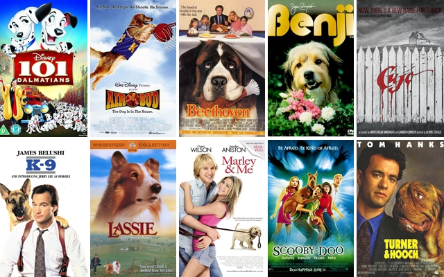 Above: 10 of our favourite dog movies