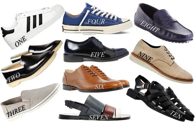 From sneakers to slip-ons, insert your feet into these must-have shoes