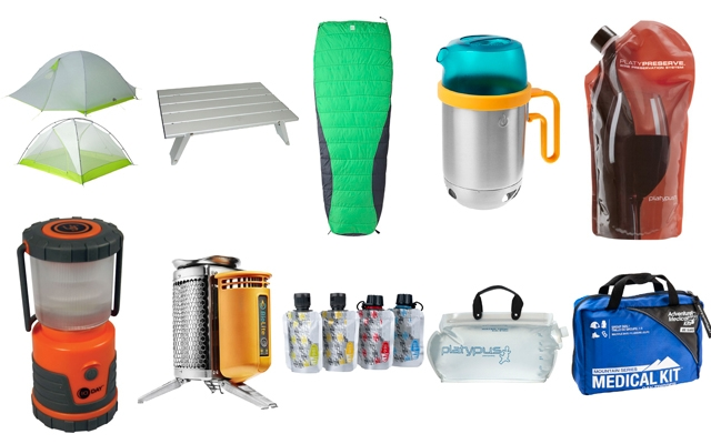Above: 10 things every man needs to go camping