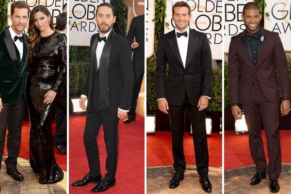 2014 Golden Globe Awards: Men On The Red Carpet