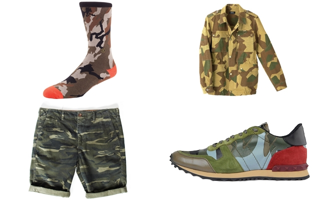 20 Cool Camouflage Items To Cop This Spring