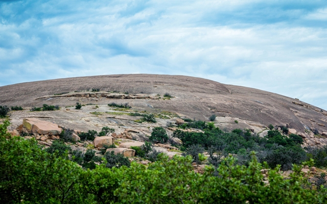 Above: Enchanted Rock, at Enchanted Rock State Park outside of Fredericksburg, Texas (Photo: Tricia Daniel/Shutterstock)