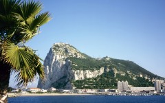 Gibraltar on a sunny day seen from across the bay (Photo: robert paul van beets/Shutterstock)