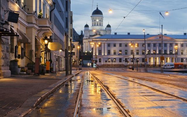 Helsinki, Finland after the rain (Photo: Sergei Sigov Photo/Shutterstock)