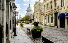 Above: Old Montreal (Photo: ProDesign studio/Shutterstock)