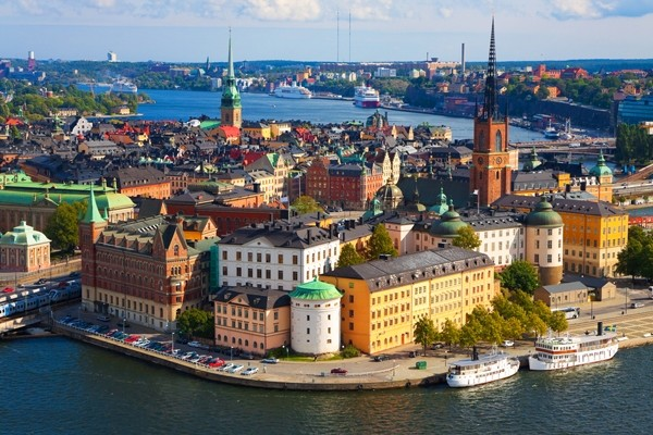 Above: Panorama of Stockholm, Sweden (Photo: Oleksiy Mark/Shutterstock)