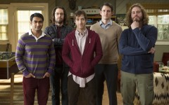 Above: The cast of 'Silicon Valley'