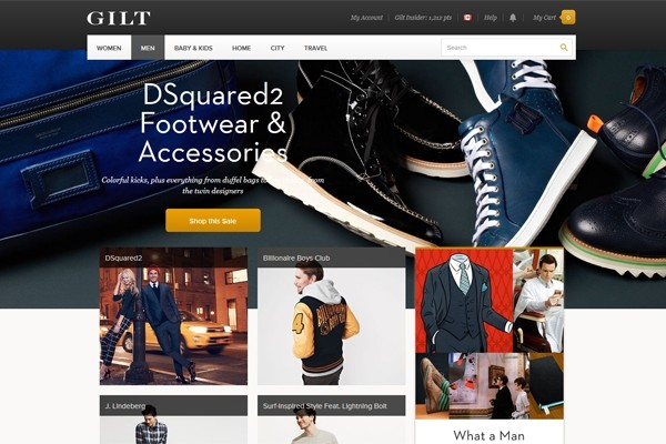 Canadian customers can now return items to Gilt.com, the innovative online shopping destination
