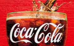 Above: A glass full of Coca Cola painted in a old wall in Atlanta, Georgia. Atlanta is the home of Coca Cola. (Photo: Luciano Mortula/Shutterstock)