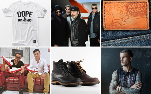 Above: These brands will have you looking fresh to death from head to toe