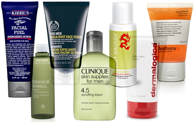 7 of our favourite face scrubs for guys