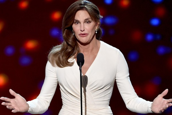 Above: Caitlyn Jenner has been named the most fascinating person of 2015