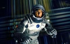 Above: Matthew McConaughey in Christopher Nolan's sci-fi opus 'Interstellar'