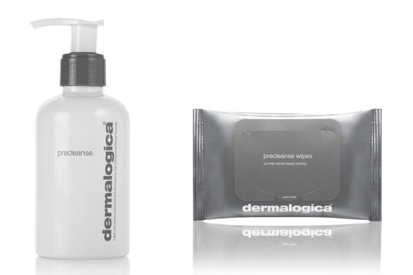 Above: Dermalogica Precleanse and Dermalogica Precleanse wipes