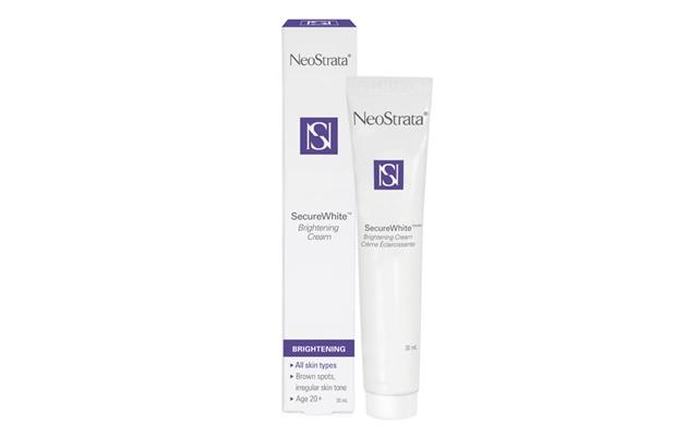 Above: NeoStrata's Secure White Brightening Face Cream SPF 30