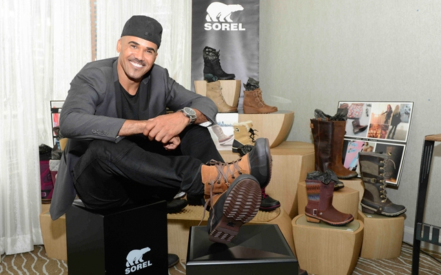 Above: Actor Shemar Moore at the 10th annual Tastemakers Lounge at the InterContinental Toronto Centre