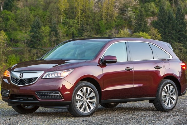 Above: The 2016 Acura MDX