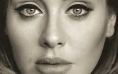 Above: Adele is  set to make chart history as her '25' album sales reach record-breaking numbers