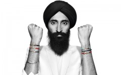 Above: Waris Ahluwalia wearing Aldo's #FriendsFight friendship bracelets