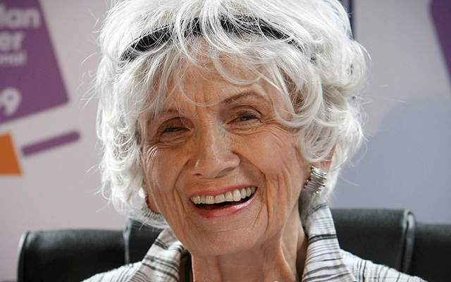 Alice Munro has won the 2013 Nobel Prize for Literature.