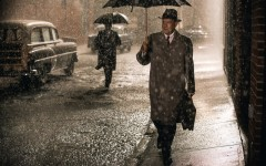Above: Tom Hanks stars in Steven Spielberg's 'Bridge of Spies'