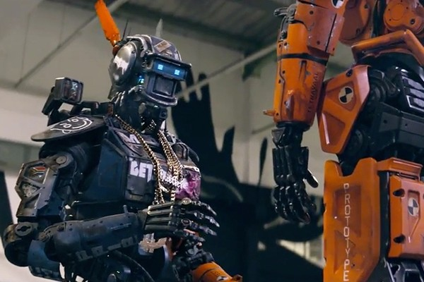 Above: Neill Blomkamp's 'Chappie' is a complete mess