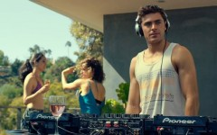 Above: Zac Efron stars in 'We Are Your Friends'