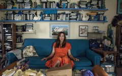 Above: Kristen Wiig plays a mentally unbalanced lottery winner in 'Welcome To Me'